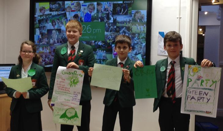 Infant and Junior School Pupils Hit the Polls thumbnail image