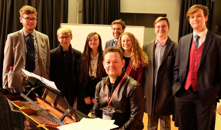 Renowned Composer Holds Choral Masterclass with Abbey Gate College Choir thumbnail image