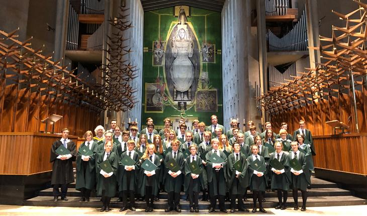 Abbey Gate College Chapel Choir Perform at Two Magnificent Cathedrals thumbnail image