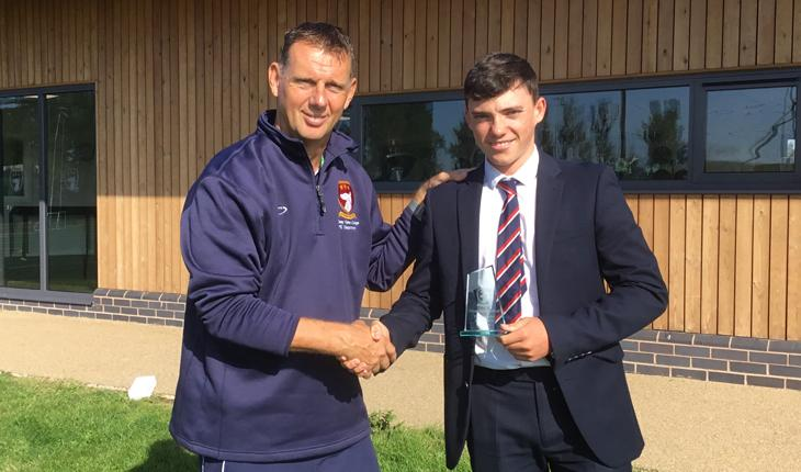 Elite Excellence in Cricket Awarded to Charlie Fleet thumbnail image