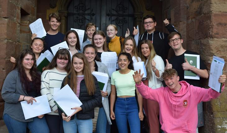 Abbey Gate College Celebrates Impressive GCSE Results thumbnail image