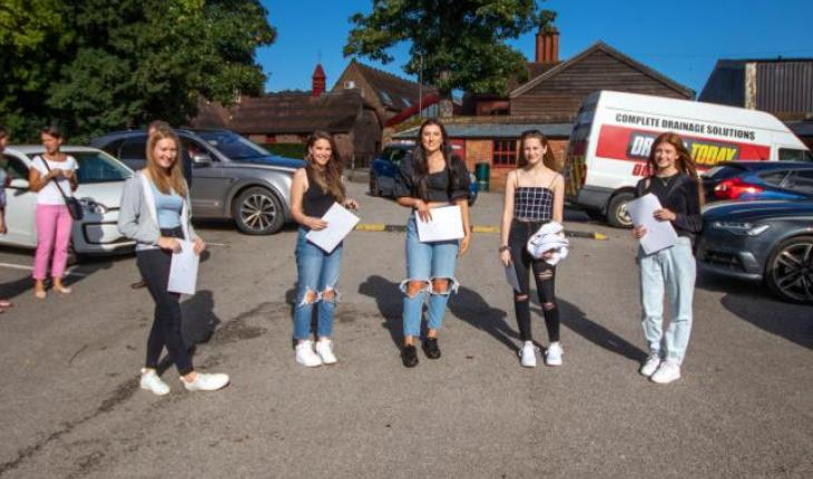 Abbey Gate College GCSE Pupils Achieve 100% Pass Rate thumbnail image