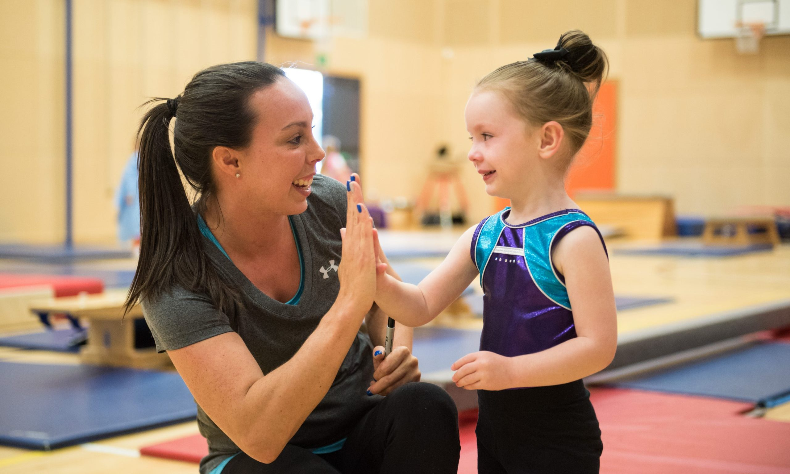Beth Tweddle Launches Industry-Leading Gymnastics Programme at Abbey Gate College thumbnail image