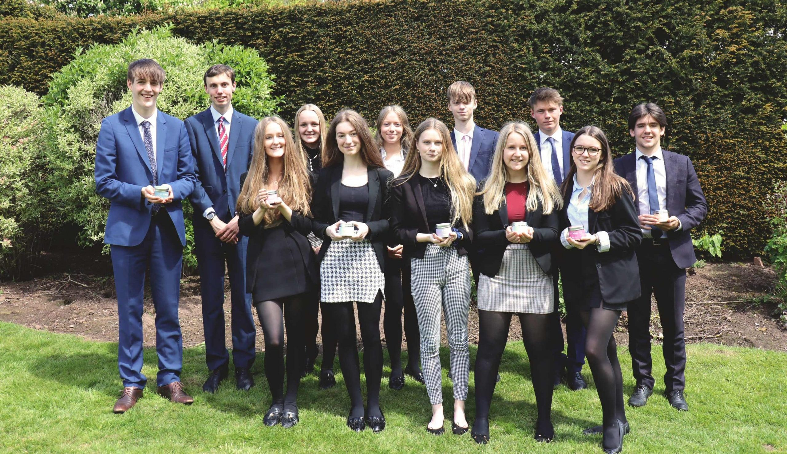 Abbey Gate College Students Crowned Young Enterprise 'North West Company of the Year' thumbnail image