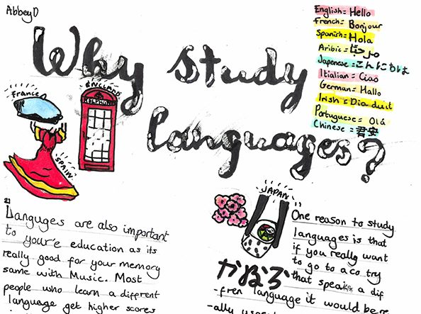 Modern Foreign Languages Year 7 Poster Competition and Whole School Quiz thumbnail image