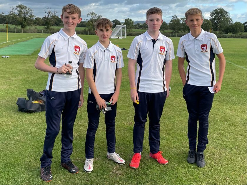 Abbey Gate College Year 9 Football Referees
